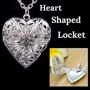 Jewelry - Heart Shaped Locket Necklace